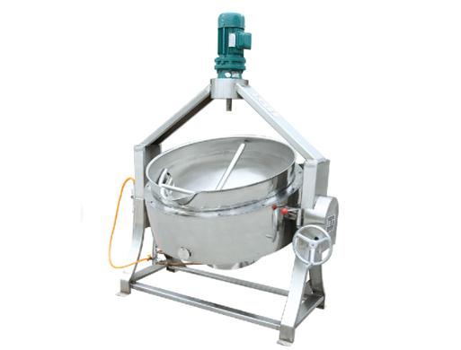 燃气搅拌夹层锅