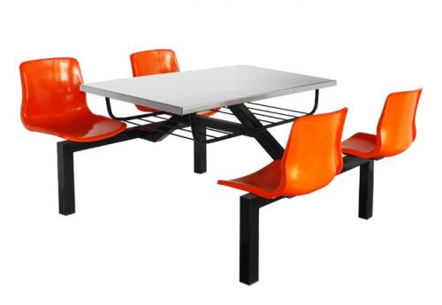 四人快餐桌椅